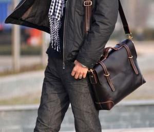 Мужская сумка как элемент стиля