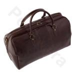 Дорожная сумка Pellevera p8815 Dark Brown