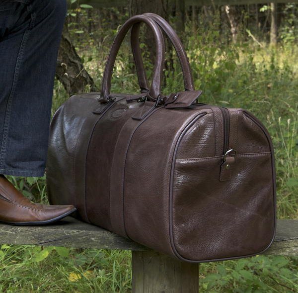 Дорожная кожаная сумка Ashwood