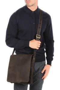 Мужская сумка-планшет Jasper 18410 Oil Brown