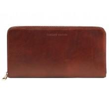Дорожный кошелек Tuscany Leather Brown