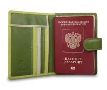 Чехол для паспорта RB75 Lime