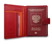 Чехол для паспорта RB75 Red