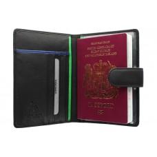 Чехол для паспорта BD-15 Black green