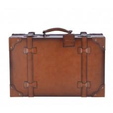 Винтажный чемодан Morgan Tan