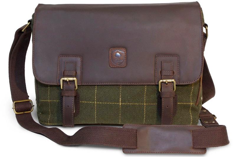 Мужская сумка из твида Jasper Tweed