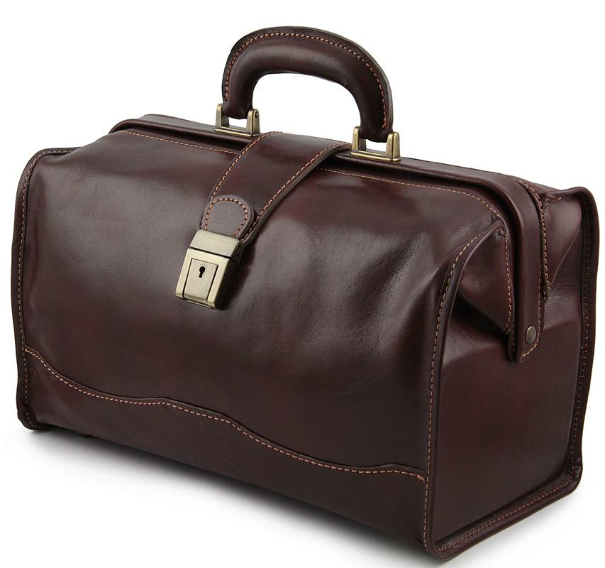 ea8afd01289c Докторский саквояж кожаный Tuscany Leather Raffaello TL10077 Black